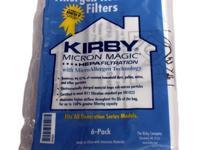 Kirby vacuum bags Generation G3 G4 G5 G6 UG bags. Kirby