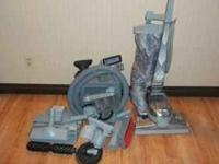 Kirby vacuum with all the bells and whistles :) Has a