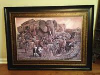 If Interested please call . Large Noah's Ark Picture
