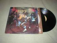 I HAVE KISS ALIVE DOUBLE ALBULM ALL IN GREAT COND. ALSO