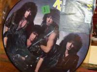 1987 - Kiss Crazy Nights Picture Disc (LP Album) Never
