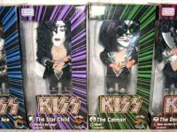 KISS Soundalikes, Gemmy, New In Box Complete Set of