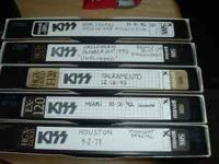 KISS VIDEOS CONCERTS SUPERB QUALITY FULL SHOWS: KISS-