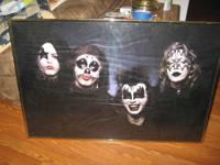 I'VE GOT A NICE EARLY 1973 KISS FRAMED 2' X 3'