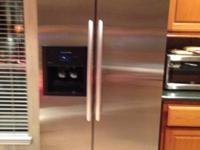 Kitchen Aid Elite Counter Depth with French door and