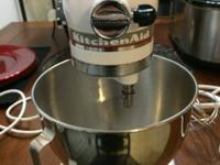 Kitchen Aid Mixer. Functions terrific !! I like the