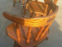 4 excellent bar stool for sale asking 80 obo for all