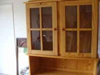 have a kitchen buffet (hutch) for sale is in great