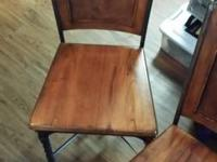 Really nice  Table Chairs a set of 4 oak wood wrought