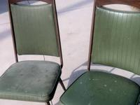 Pair of Kitchen Chairs, Vintage, Mid-Century! Daystrom