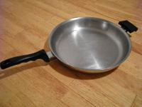 "The 11.5"" Saute' Skillet is the largest- and arguably"