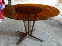 $ 35. Kitchen Glass Table - HEAVY DUTY. Call me now: .