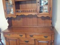 We have a beautiful Kitchen Hutch for Sale. We are