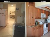 We offer superior kitchen remodel services from a team