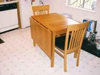 I have a teak-wood kitchen table for sale. I bought it
