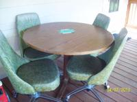 Round Table and 4 Chairs $50.00 Call  // //]]>