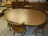 Very nice table - it is 60 x 40 inches with out the