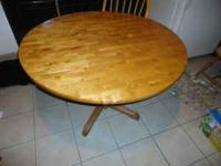 Looking to sell my kitchen table and chairs. There are