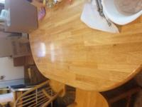 Type:Dining Room kitchen table and chairs very good