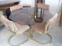 I have for sale a kitchen table and 4 chairs Great