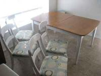Kitchen Table with 4 chairs $200 OBO If you don't like