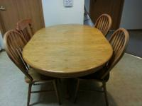 Amazing cooking area table for sale ... asking $80.