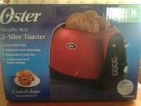 2-Slice Electric Toaster, produced by Oster. Product #