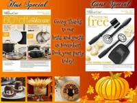 Host a Pampered Chef cooking show, catalog or online