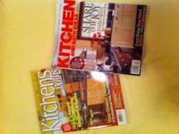 Two great kitchen and bath idea mags. One of them is