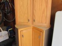 I am selling two kitchen cabinets in excellent used