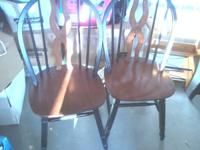 4 kitchen chairs $15.00 each or $50 for all 4 Please