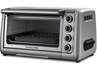 KitchenAid?s KCO111CU Contour Silver Countertop 10 In.