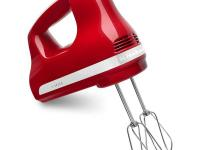 The KitchenAid KHM512ER Ultra Power 5-Speed Hand Mixer,