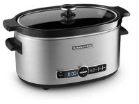 The KitchenAid KSC6223SS 6 Qt. Slow Cooker with Flip