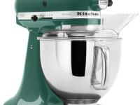The KitchenAid KSM150PSBL Bay Leaf Mixer is incredibly