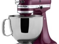 The KitchenAid KSM150PSBY Boysenberry Artisan Series