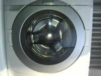 very nice front loading washer. the washer is working