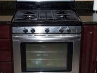 Kitchenaid Gas 5 burner Stove Stainless Steel Stove 4
