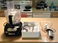 I'm moving soon and am selling my KitchenAid KFP750OB