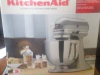 Kitchen Aid Stand Mixer Bowl Lift White All Metal 10