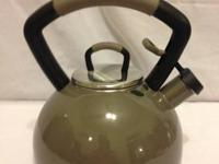 KitchenAid Porcelain Enamel Tea Kettle WS 2.  2.25