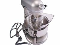 This is the Flagship of the Kitchen Aid line. Nickel