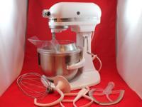KitchenAid Stand Mixer /5 qt Lift Bowl/ Model K5SS/ 10