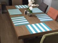 6 Piece Dining Room Table - Perfect Condition! Only