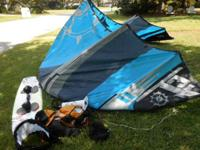 I have a full kiteboard outfit (sail, board, harness,