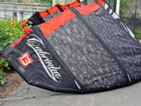 Awesome kiteboard - used 3 times! Bag, board, strings,
