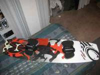 im selling a kiteboard set up ive had for a few years