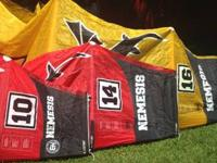 4 finest bane kites sizes 10,14,16,21 meters most