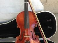 Klaus Mueller Etude full-size violin. Purchased new by