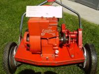 Cooper Klipper self sharping Lawn mower. Self perpelled